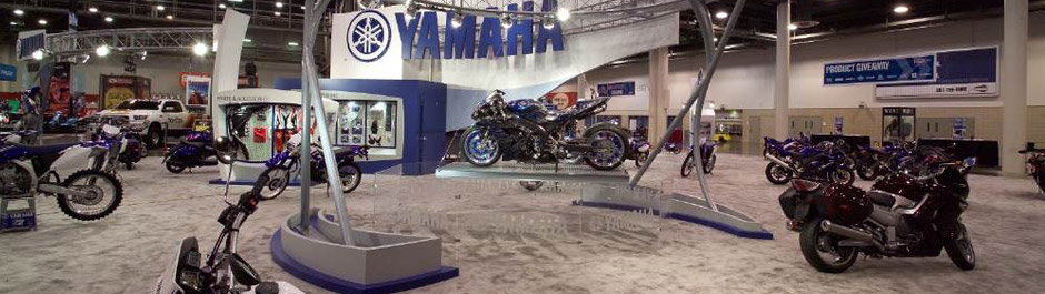 Trade Show exhibit design - Yamaha Motor Corp. USA