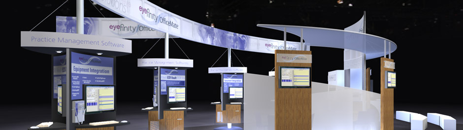 Trade Show exhibit design - OfficeMate