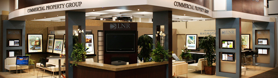 Trade Show exhibit design - LNR Property Corp