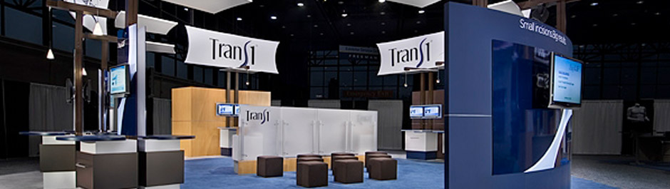 Trade Show exhibit design - Trans1