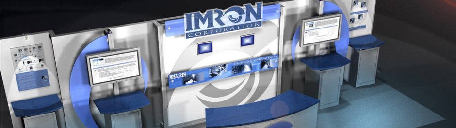 Trade Show exhibit design - Imron Corporation