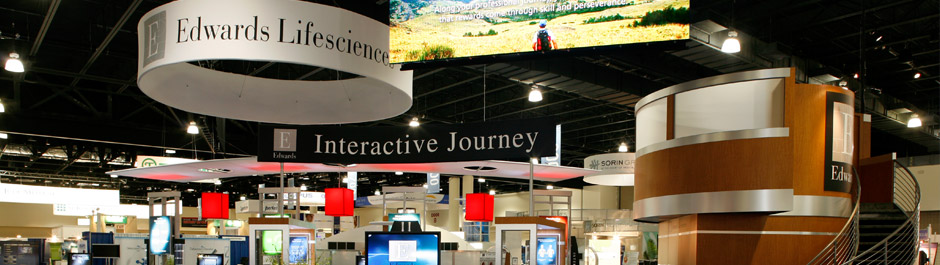 Trade Show exhibit design - Edwards Lifesciences