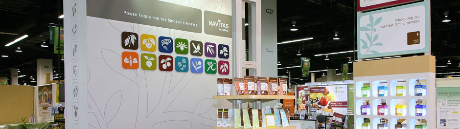 Trade Show exhibit design - Navitas
