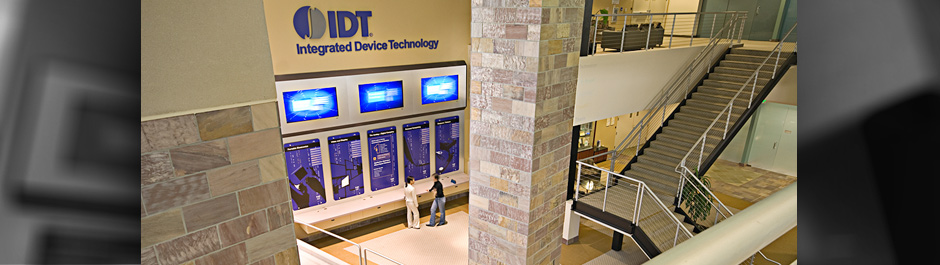 Trade Show exhibit design - IDT