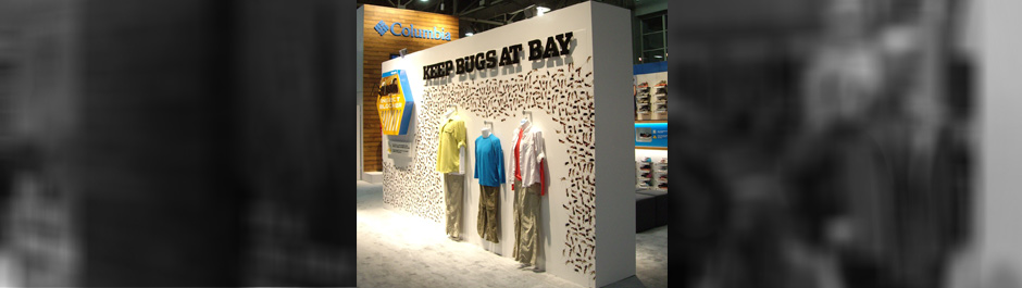 Trade Show exhibit design - Columbia Sportswear