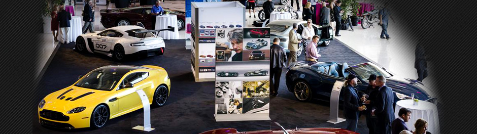 Trade Show exhibit design - Aston Martin