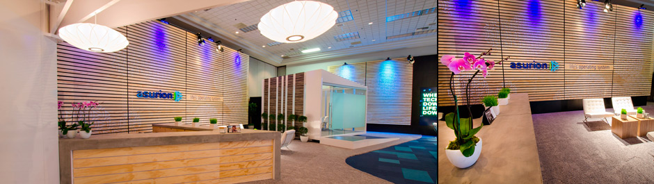 Trade Show exhibit design - Asurion