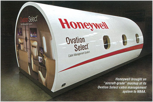 Honeywell Oviation Select cabin management system