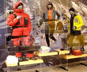 Portland custom exhibit case study - Columbia Sportswear Retail Design Exhibit