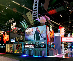 Orange County custom exhibit case study - THQ Custom Exhibit