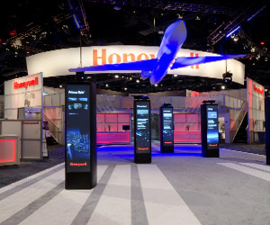 Phoenix custom exhibit case study - Honeywell Aviation Exhibit