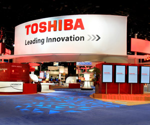 Orange County custom exhibit case study - Toshiba Medical Healthcare Exhibit