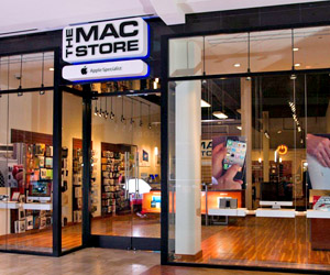 Portland custom exhibit case study - The Mac Store Retail Environment