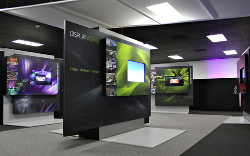 DisplayWorks Debuts New Digital Media Center in Sunnyvale