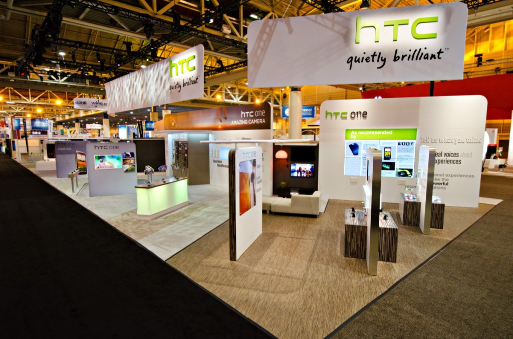 HTC Booth at CTIA Wireless 2012