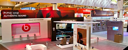HTC Booth at CTIA 2012