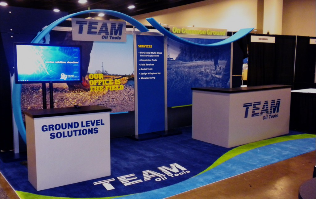 Team Oil Tools Trade Show Exhibit