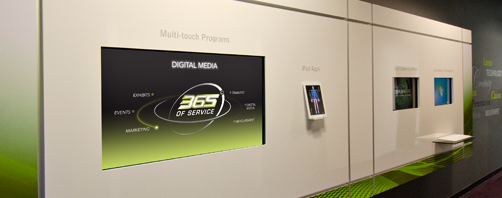 Digital Media for Trade Shows