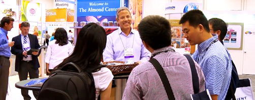 Blue Diamond Almonds Trade Show Exhibit Preview