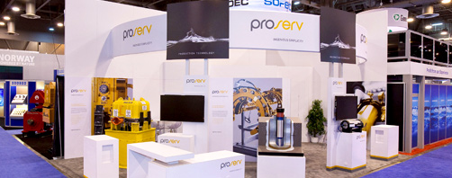 ProServ Exhibit at OTC 2012 Trade show