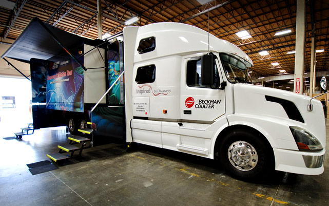 Discovery In Motion Truck Expanded
