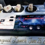 Discovery In Motion Tour Truck Cake