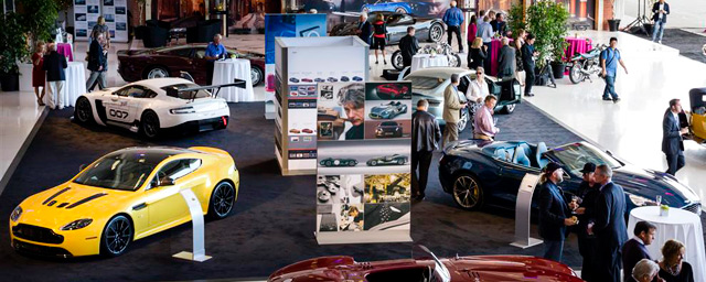 Exhibits for Auto Industry Marketing Event