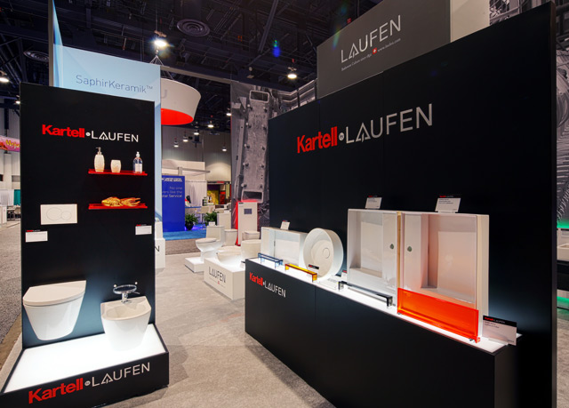 LAUFEN Exhibit At KBIS In Las Vegas