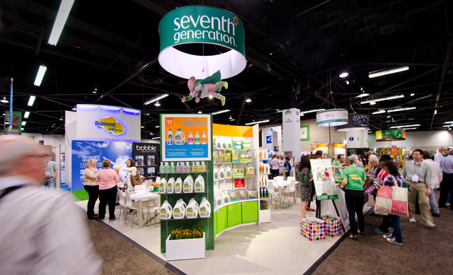 Seventh Generation Booth at Natural Products Expo West at Anaheim Convention Center