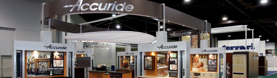 Trade Show exhibit design - Accuride