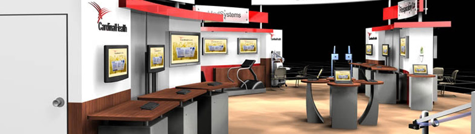 Trade Show exhibit design - Cardinal Healthcare