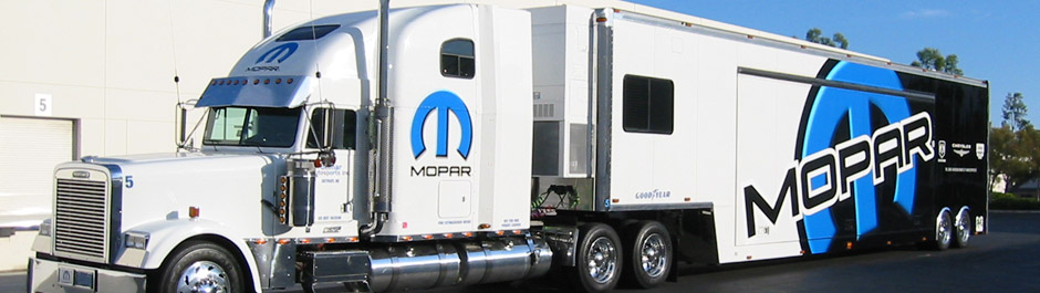 Trade Show exhibit design - Mopar