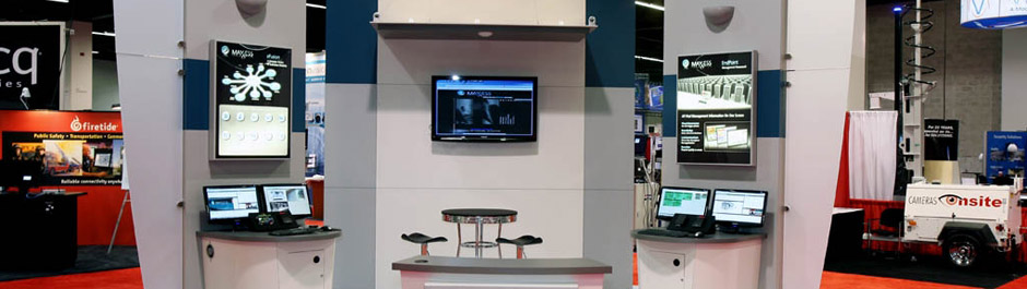 Trade Show exhibit design - Maxxess