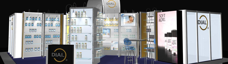 Trade Show exhibit design - Henkel