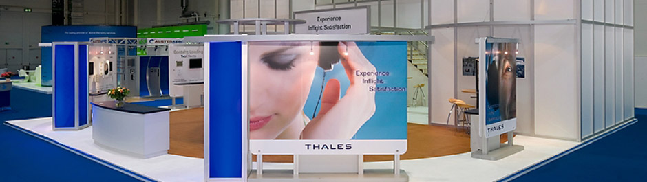 Trade Show exhibit design - Thales