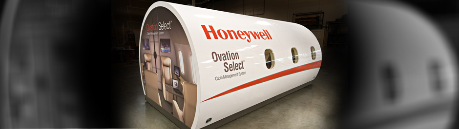Trade Show exhibit design - Honeywell