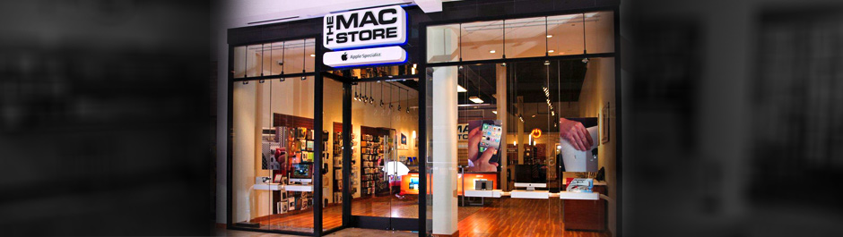 Trade Show exhibit design - The Mac Store