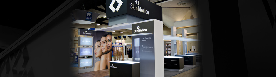 Trade Show exhibit design - SkinMedica
