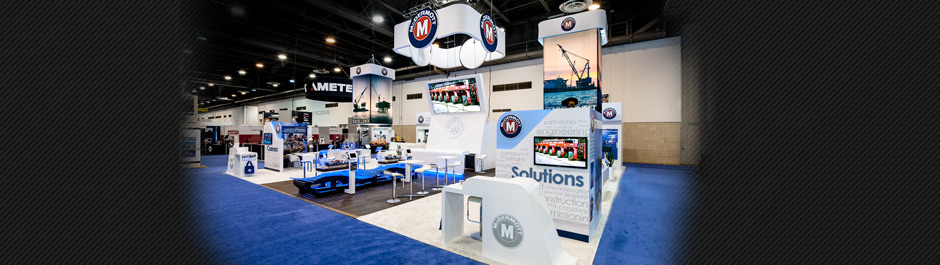 Trade Show exhibit design - McDermott International