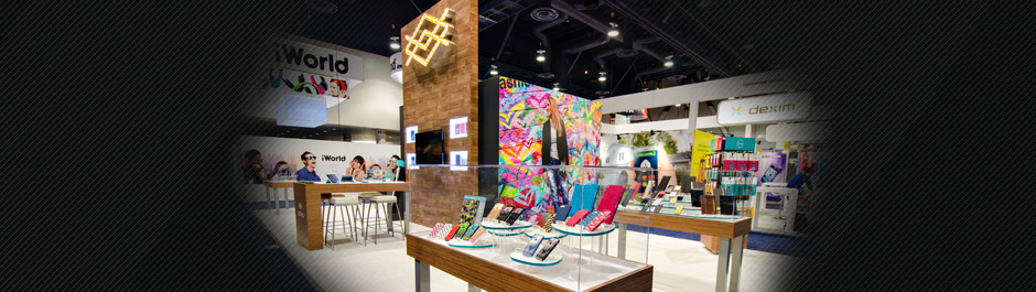 Trade Show exhibit design - X-Doria International
