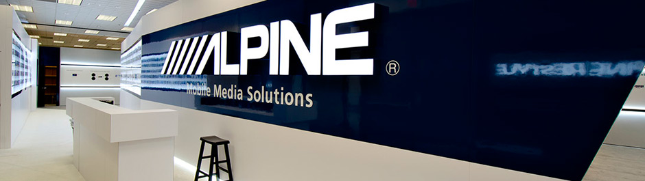 Trade Show exhibit design - Alpine