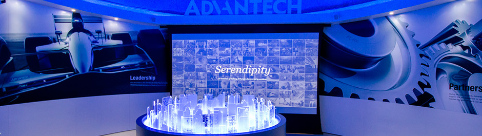 Trade Show exhibit design - Advantech