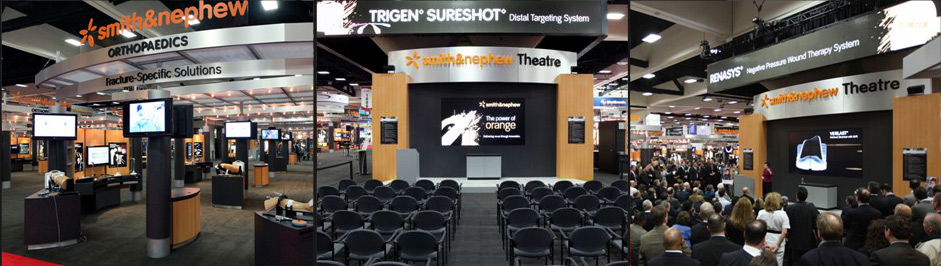 Smith & Nephew custom exhibit design case study