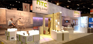 Cincinnati custom exhibit, trade show booth design, trade show booth rentals and modular exhibits