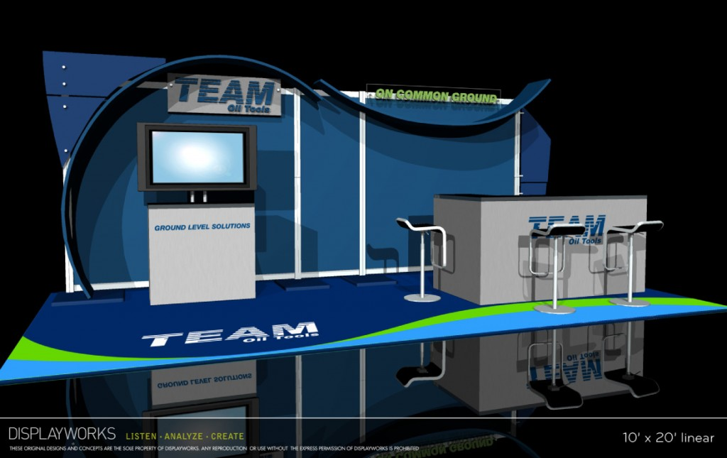 Team Oil Tools Exhibit