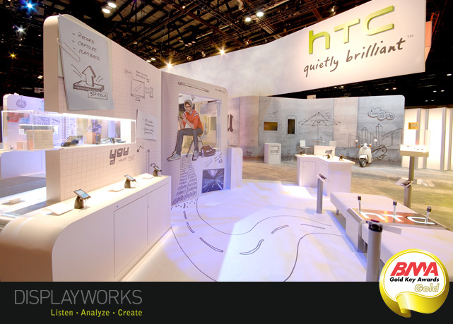Exhibition Booth Design Award : Displayworks wins top marketing honors at colorado