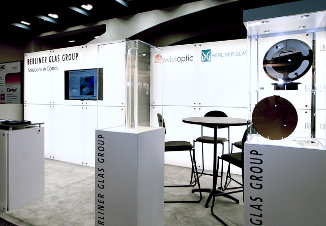 Berlinerglas Booth at Semicon West San Francisco