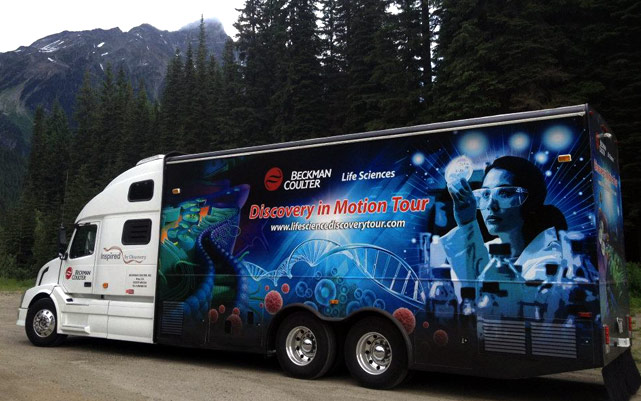 Discovery In Motion Tour on the Road