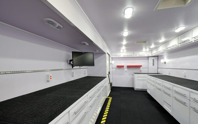Discovery In Motion Tour Truck Interior