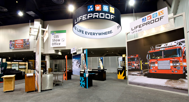 CES LifeProof Booth Best in Show by iLounge